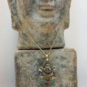Jewelry - BUDDHIST JEWELRY PENDANT URN